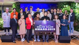 「ONLINE SALON AWARD 2019」会場レポート